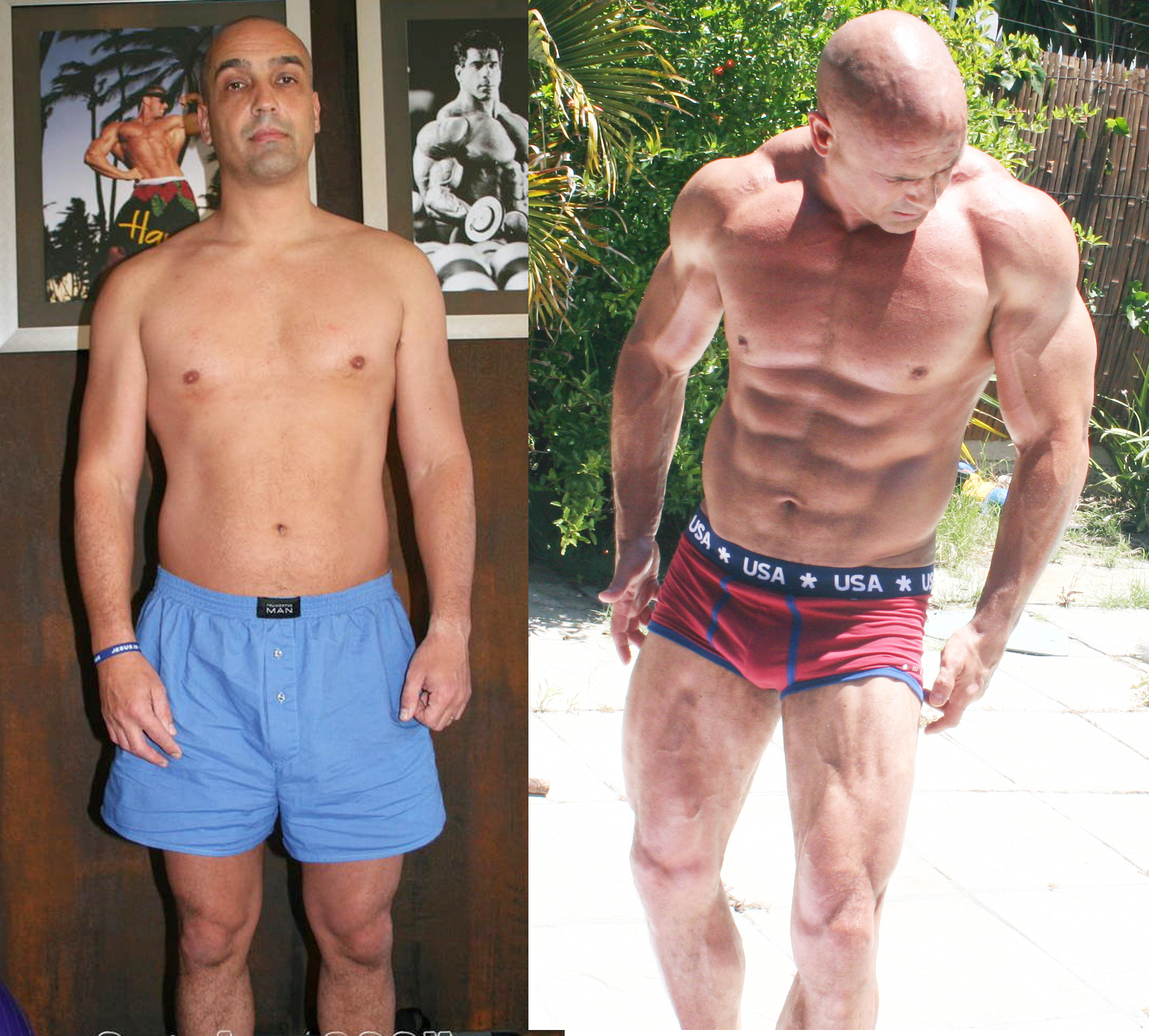 youtube 1 year steroid transformation