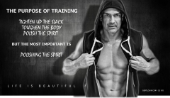 Gert Louw importance of training