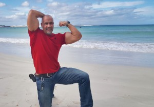 Arniston red shirt flex Gert Louw